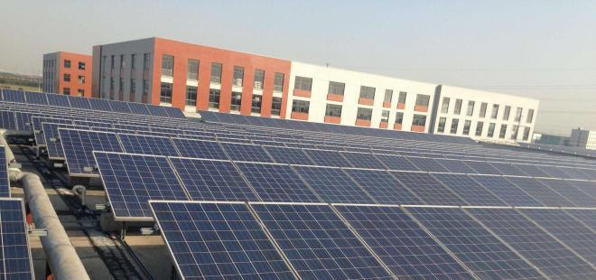 偃师市产业集聚区成为豫西地区最大的屋顶光伏电站区域